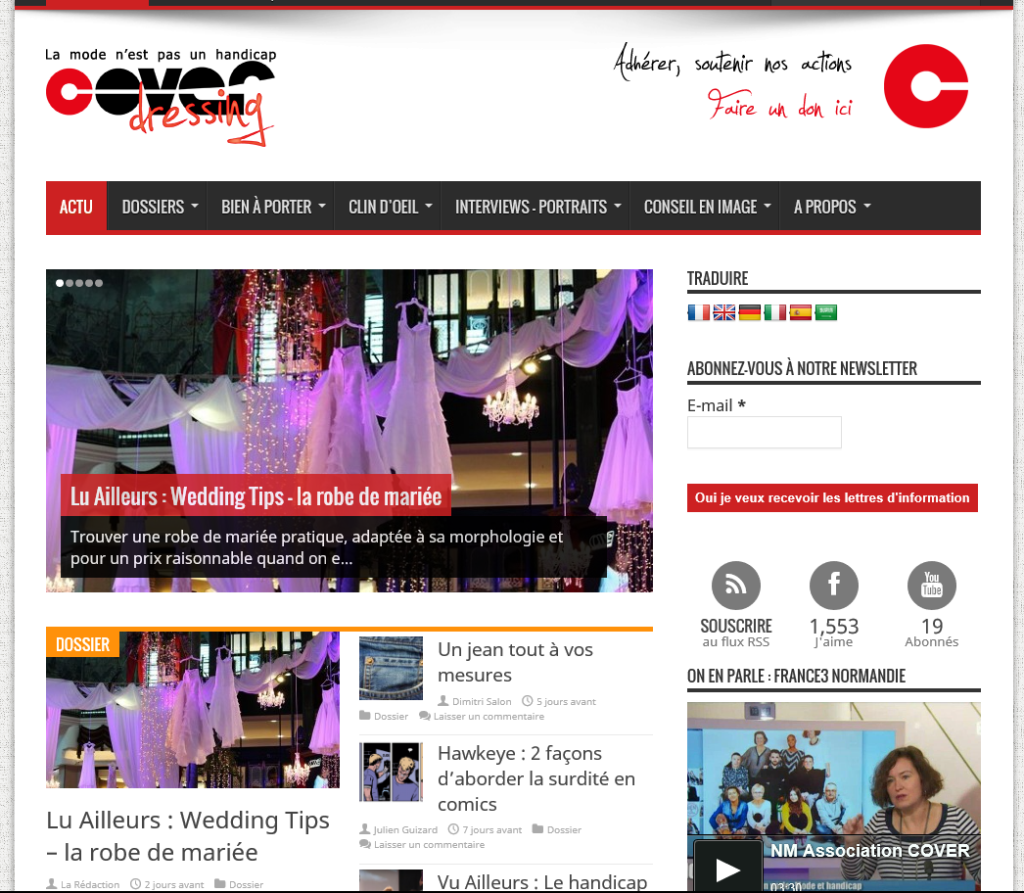 Home page www.coverdressing.com