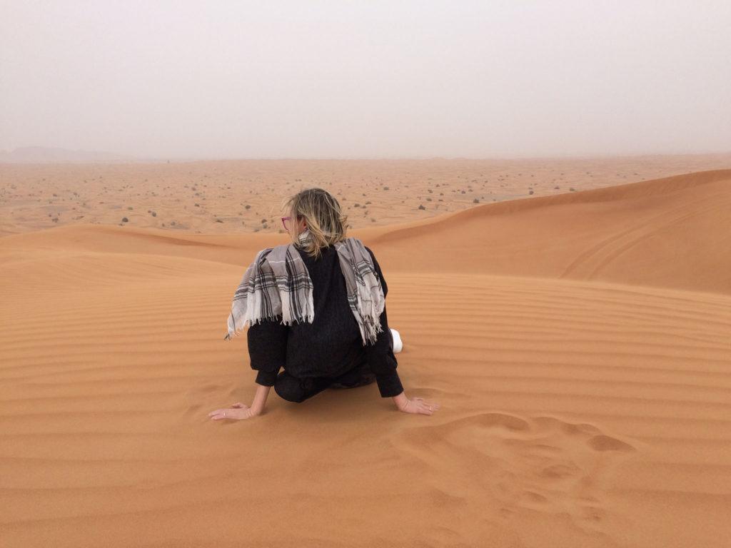 Posée sur le sable- Dubaï