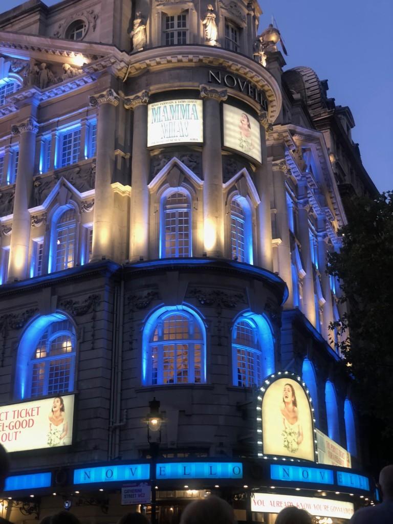 novello theatre handinary stories