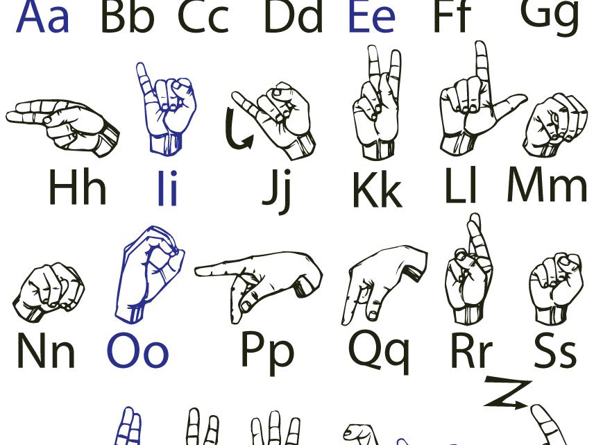 langue des signes alphabet handinary stories